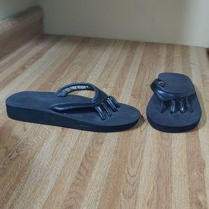 Hot Yoga Toe Flip Flops L 8-9